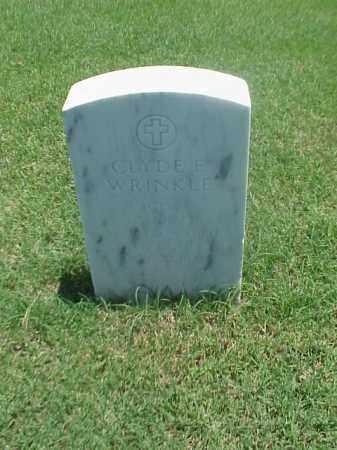 WRINKLE (VETERAN WWII), CLYDE E - Pulaski County, Arkansas | CLYDE E WRINKLE (VETERAN WWII) - Arkansas Gravestone Photos