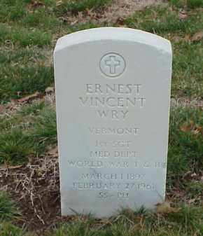 WRY  (VETERAN 2 WARS), ERNEST VINCENT - Pulaski County, Arkansas | ERNEST VINCENT WRY  (VETERAN 2 WARS) - Arkansas Gravestone Photos