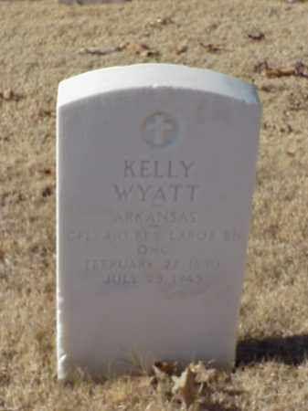WYATT (VETERAN WWI), KELLY - Pulaski County, Arkansas | KELLY WYATT (VETERAN WWI) - Arkansas Gravestone Photos