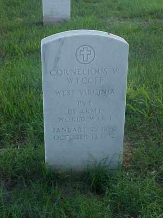 WYCOFF (VETERAN WWI), CORNELIOUS W - Pulaski County, Arkansas | CORNELIOUS W WYCOFF (VETERAN WWI) - Arkansas Gravestone Photos