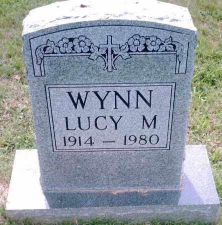 WYNN, LUCY M. - Pulaski County, Arkansas | LUCY M. WYNN - Arkansas Gravestone Photos