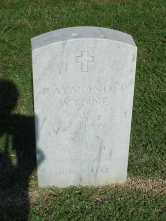 WYNNE (VETERAN 2 WARS), RAYMOND T - Pulaski County, Arkansas | RAYMOND T WYNNE (VETERAN 2 WARS) - Arkansas Gravestone Photos