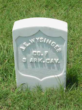 WYSINGER (VETERAN UNION), J E - Pulaski County, Arkansas | J E WYSINGER (VETERAN UNION) - Arkansas Gravestone Photos