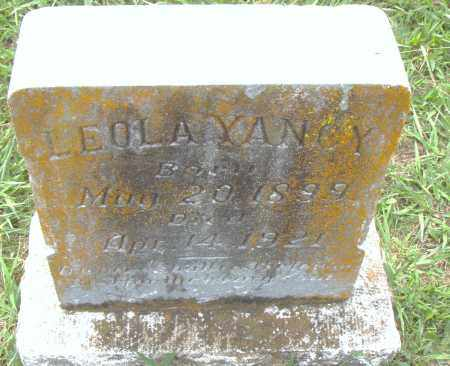 YANCY, LEOLA - Pulaski County, Arkansas | LEOLA YANCY - Arkansas Gravestone Photos