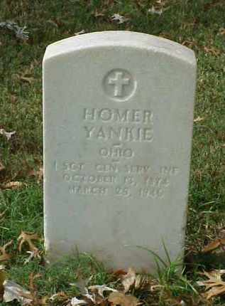 YANKIE (VETERAN SAW), HOMER - Pulaski County, Arkansas | HOMER YANKIE (VETERAN SAW) - Arkansas Gravestone Photos
