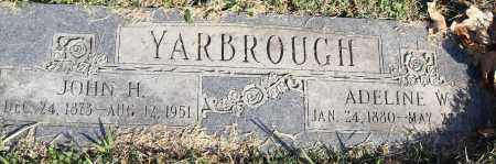 YARBOROUGH, ADELINE W - Pulaski County, Arkansas | ADELINE W YARBOROUGH - Arkansas Gravestone Photos