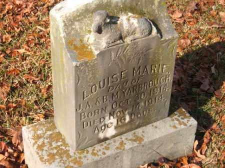 YARBROUGH, LOUISE MARIE - Pulaski County, Arkansas | LOUISE MARIE YARBROUGH - Arkansas Gravestone Photos