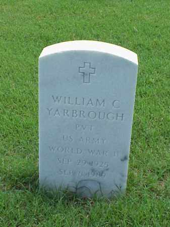 YARBROUGH (VETERAN WWII), WILLIAM C - Pulaski County, Arkansas | WILLIAM C YARBROUGH (VETERAN WWII) - Arkansas Gravestone Photos