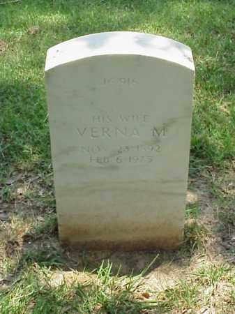YEAGER, VERNA M - Pulaski County, Arkansas | VERNA M YEAGER - Arkansas Gravestone Photos