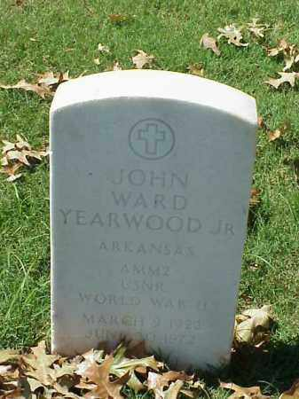 YEARWOOD, JR (VETERAN WWII), JOHN WARD - Pulaski County, Arkansas | JOHN WARD YEARWOOD, JR (VETERAN WWII) - Arkansas Gravestone Photos