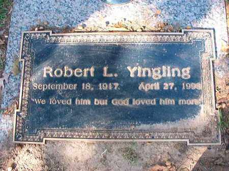 YINGLING, ROBERT L - Pulaski County, Arkansas | ROBERT L YINGLING - Arkansas Gravestone Photos