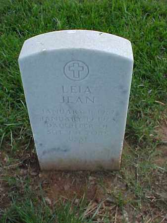 YORK, LEIA JEAN - Pulaski County, Arkansas | LEIA JEAN YORK - Arkansas Gravestone Photos