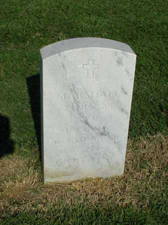 YORK, SR (VETERAN WWII), MARSHALL - Pulaski County, Arkansas | MARSHALL YORK, SR (VETERAN WWII) - Arkansas Gravestone Photos