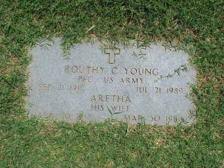 YOUNG, ARETHA - Pulaski County, Arkansas | ARETHA YOUNG - Arkansas Gravestone Photos