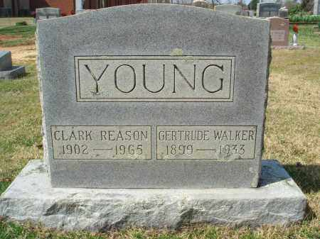 YOUNG, CLARK REASON - Pulaski County, Arkansas | CLARK REASON YOUNG - Arkansas Gravestone Photos