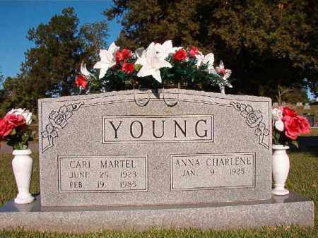 YOUNG, CARL MARTEL - Pulaski County, Arkansas | CARL MARTEL YOUNG - Arkansas Gravestone Photos