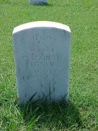 YOUNG, ELIZABETH EGNER - Pulaski County, Arkansas   ELIZABETH EGNER YOUNG - Arkansas Gravestone Photos