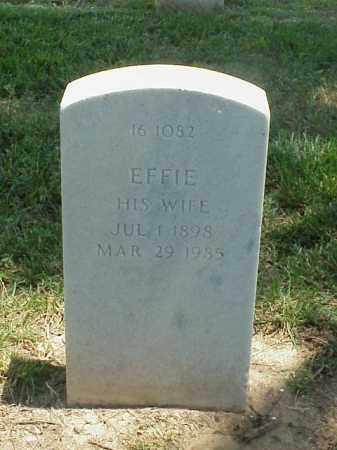 YOUNG, EFFIE - Pulaski County, Arkansas | EFFIE YOUNG - Arkansas Gravestone Photos