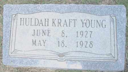 YOUNG, HULDAH - Pulaski County, Arkansas | HULDAH YOUNG - Arkansas Gravestone Photos