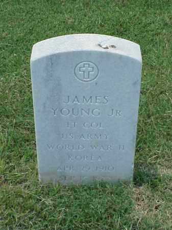YOUNG, JR (VETERAN 2 WARS), JAMES - Pulaski County, Arkansas | JAMES YOUNG, JR (VETERAN 2 WARS) - Arkansas Gravestone Photos