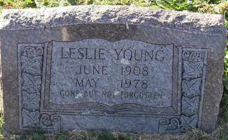 YOUNG, LESLIE - Pulaski County, Arkansas | LESLIE YOUNG - Arkansas Gravestone Photos