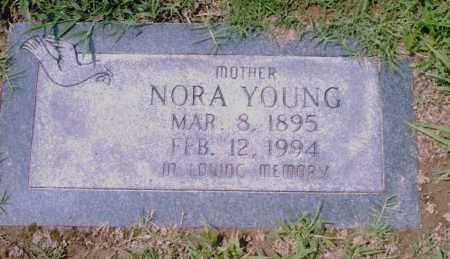 YOUNG, NORA - Pulaski County, Arkansas | NORA YOUNG - Arkansas Gravestone Photos