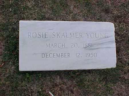 SKALMER YOUNG, ROSIE - Pulaski County, Arkansas | ROSIE SKALMER YOUNG - Arkansas Gravestone Photos