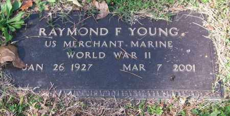YOUNG (VETERAN WWII), RAYMOND F. - Pulaski County, Arkansas | RAYMOND F. YOUNG (VETERAN WWII) - Arkansas Gravestone Photos