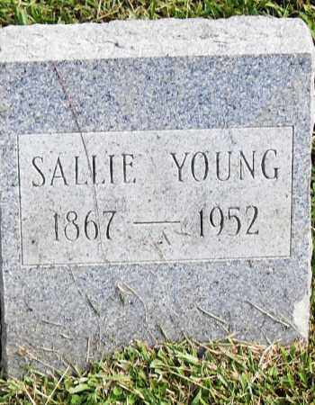 YOUNG, SALLIE - Pulaski County, Arkansas | SALLIE YOUNG - Arkansas Gravestone Photos