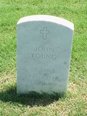 YOUNG (VETERAN), JOHN - Pulaski County, Arkansas | JOHN YOUNG (VETERAN) - Arkansas Gravestone Photos