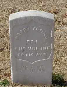 YOUNG (VETERAN SAW), HARRY - Pulaski County, Arkansas | HARRY YOUNG (VETERAN SAW) - Arkansas Gravestone Photos