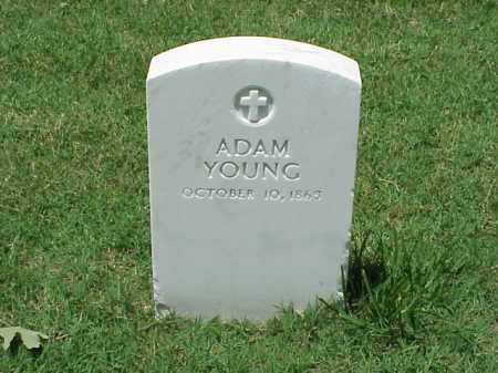YOUNG, ADAM - Pulaski County, Arkansas | ADAM YOUNG - Arkansas Gravestone Photos