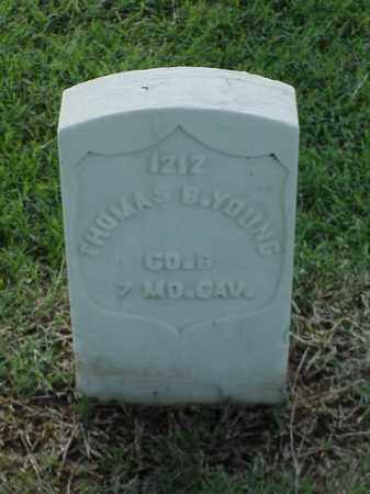 YOUNG (VETERAN UNION), THOMAS B - Pulaski County, Arkansas | THOMAS B YOUNG (VETERAN UNION) - Arkansas Gravestone Photos