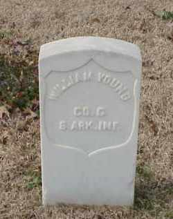 YOUNG (VETERAN UNION), WILLIAM - Pulaski County, Arkansas | WILLIAM YOUNG (VETERAN UNION) - Arkansas Gravestone Photos