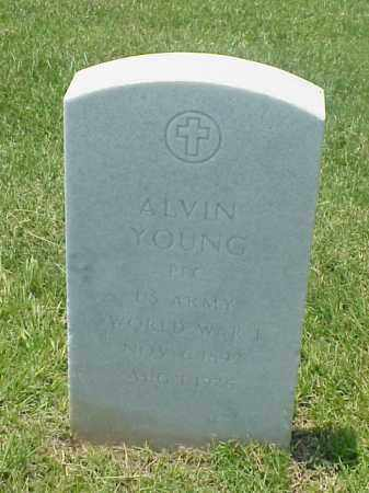 YOUNG (VETERAN WWI), ALVIN - Pulaski County, Arkansas | ALVIN YOUNG (VETERAN WWI) - Arkansas Gravestone Photos