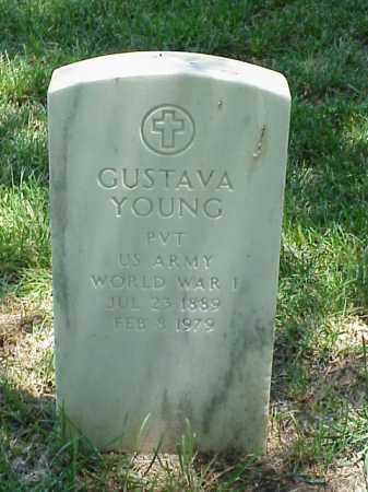 YOUNG (VETERAN WWI), GUSTAVA - Pulaski County, Arkansas | GUSTAVA YOUNG (VETERAN WWI) - Arkansas Gravestone Photos
