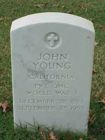 YOUNG (VETERAN WWI), JOHN - Pulaski County, Arkansas | JOHN YOUNG (VETERAN WWI) - Arkansas Gravestone Photos