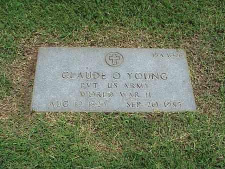 YOUNG (VETERAN WWII), CLAUDE O - Pulaski County, Arkansas | CLAUDE O YOUNG (VETERAN WWII) - Arkansas Gravestone Photos