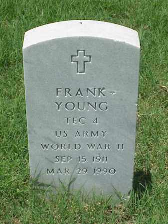 YOUNG (VETERAN WWII), FRANK - Pulaski County, Arkansas | FRANK YOUNG (VETERAN WWII) - Arkansas Gravestone Photos