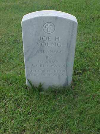 YOUNG (VETERAN WWII), JOE H - Pulaski County, Arkansas | JOE H YOUNG (VETERAN WWII) - Arkansas Gravestone Photos