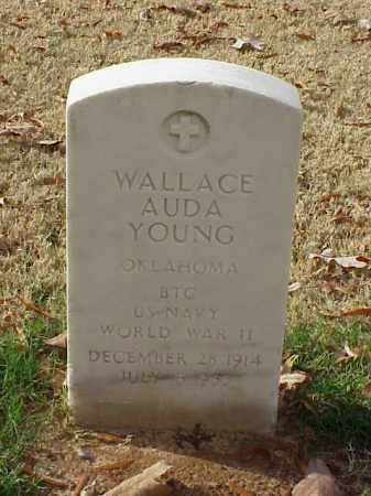 YOUNG (VETERAN WWII), WALLACE AUDA - Pulaski County, Arkansas | WALLACE AUDA YOUNG (VETERAN WWII) - Arkansas Gravestone Photos