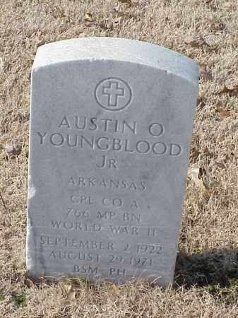 YOUNGBLOOD, JR (VETERAN WWII), AUSTIN O - Pulaski County, Arkansas | AUSTIN O YOUNGBLOOD, JR (VETERAN WWII) - Arkansas Gravestone Photos