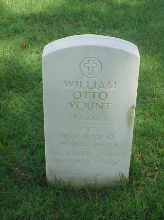 YOUNT (VETERAN WWI), WILLIAM OTTO - Pulaski County, Arkansas | WILLIAM OTTO YOUNT (VETERAN WWI) - Arkansas Gravestone Photos