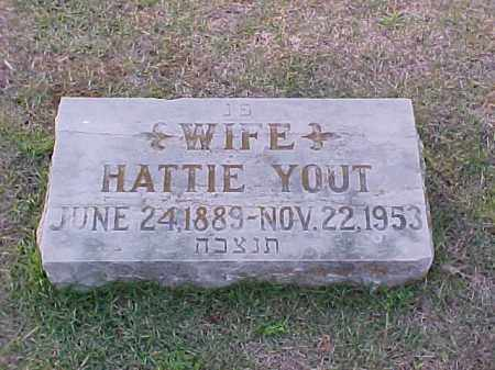 YOUT, HATTIE - Pulaski County, Arkansas | HATTIE YOUT - Arkansas Gravestone Photos