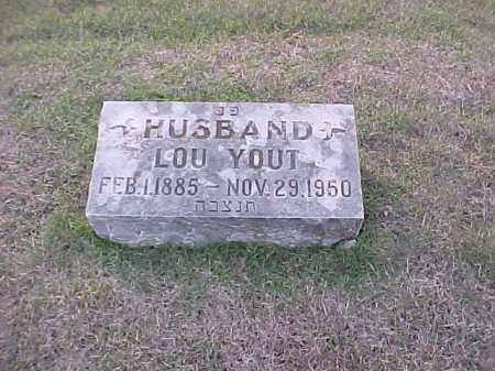 YOUT, LOU - Pulaski County, Arkansas | LOU YOUT - Arkansas Gravestone Photos