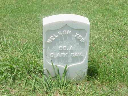 YOW (VETERAN UNION), NELSON - Pulaski County, Arkansas | NELSON YOW (VETERAN UNION) - Arkansas Gravestone Photos