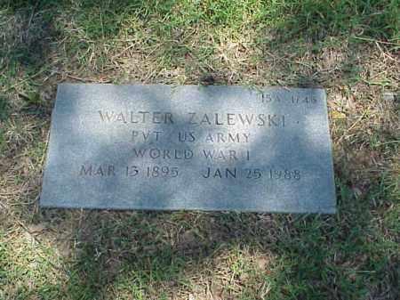 ZALEWSKI (VETERAN WWI), WALTER - Pulaski County, Arkansas | WALTER ZALEWSKI (VETERAN WWI) - Arkansas Gravestone Photos