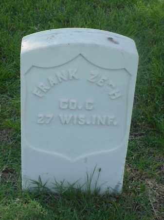 ZECH (VETERAN UNION), FRANK - Pulaski County, Arkansas | FRANK ZECH (VETERAN UNION) - Arkansas Gravestone Photos