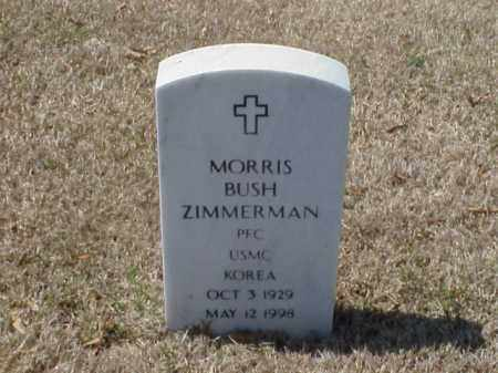ZIMMERMAN (VETERAN KOR), MORRIS BUSH - Pulaski County, Arkansas | MORRIS BUSH ZIMMERMAN (VETERAN KOR) - Arkansas Gravestone Photos