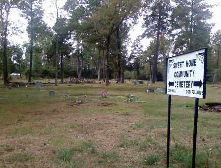 *ZION HILL CEMETERY, SIGN AND OVERVIEW - Pulaski County, Arkansas | SIGN AND OVERVIEW *ZION HILL CEMETERY - Arkansas Gravestone Photos
